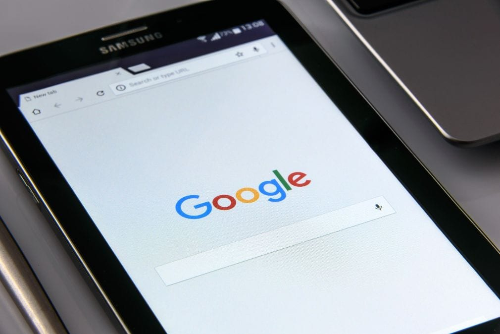 google on mobile device