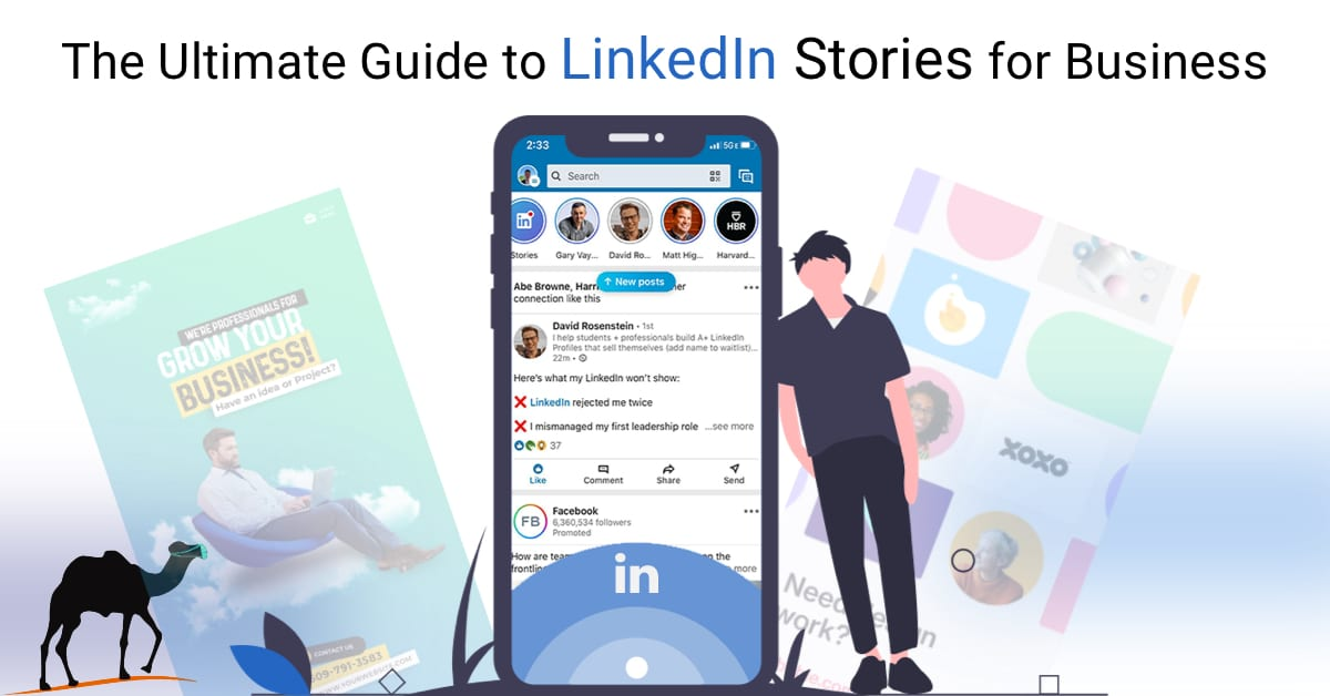LinkedIn Stories for business